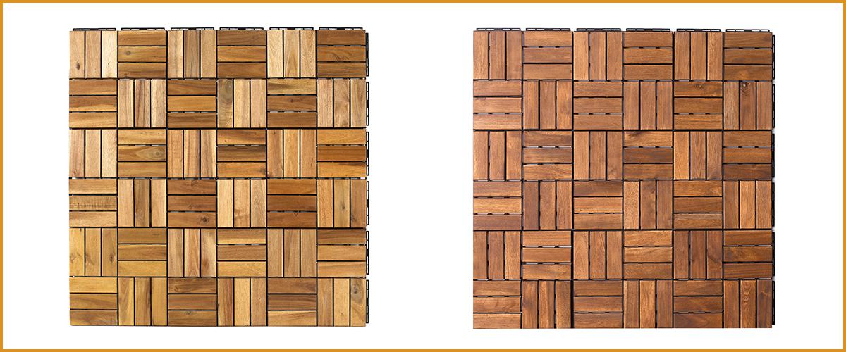 Vietnam Acacia Deck Tiles