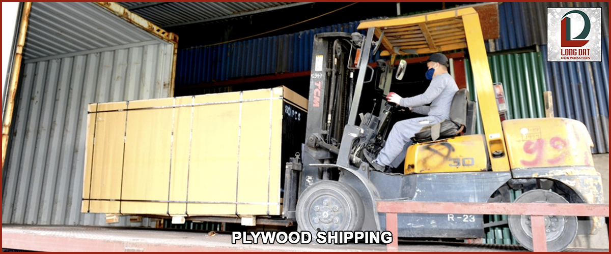 plywood shipping